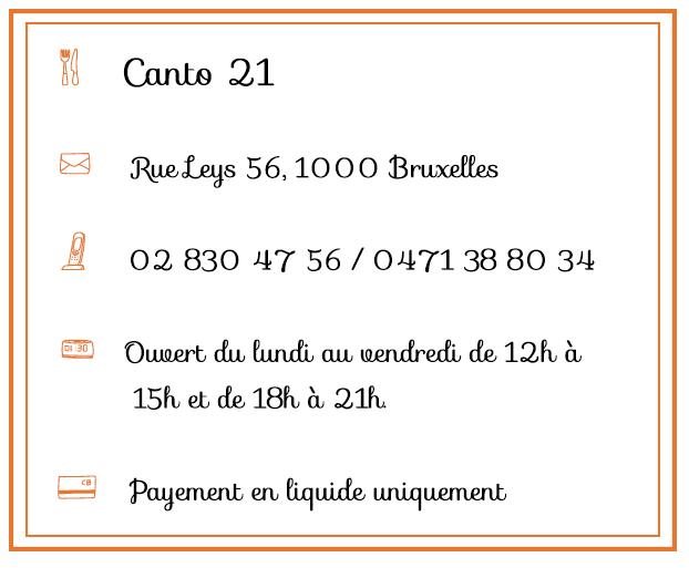 Canto21 - Infos